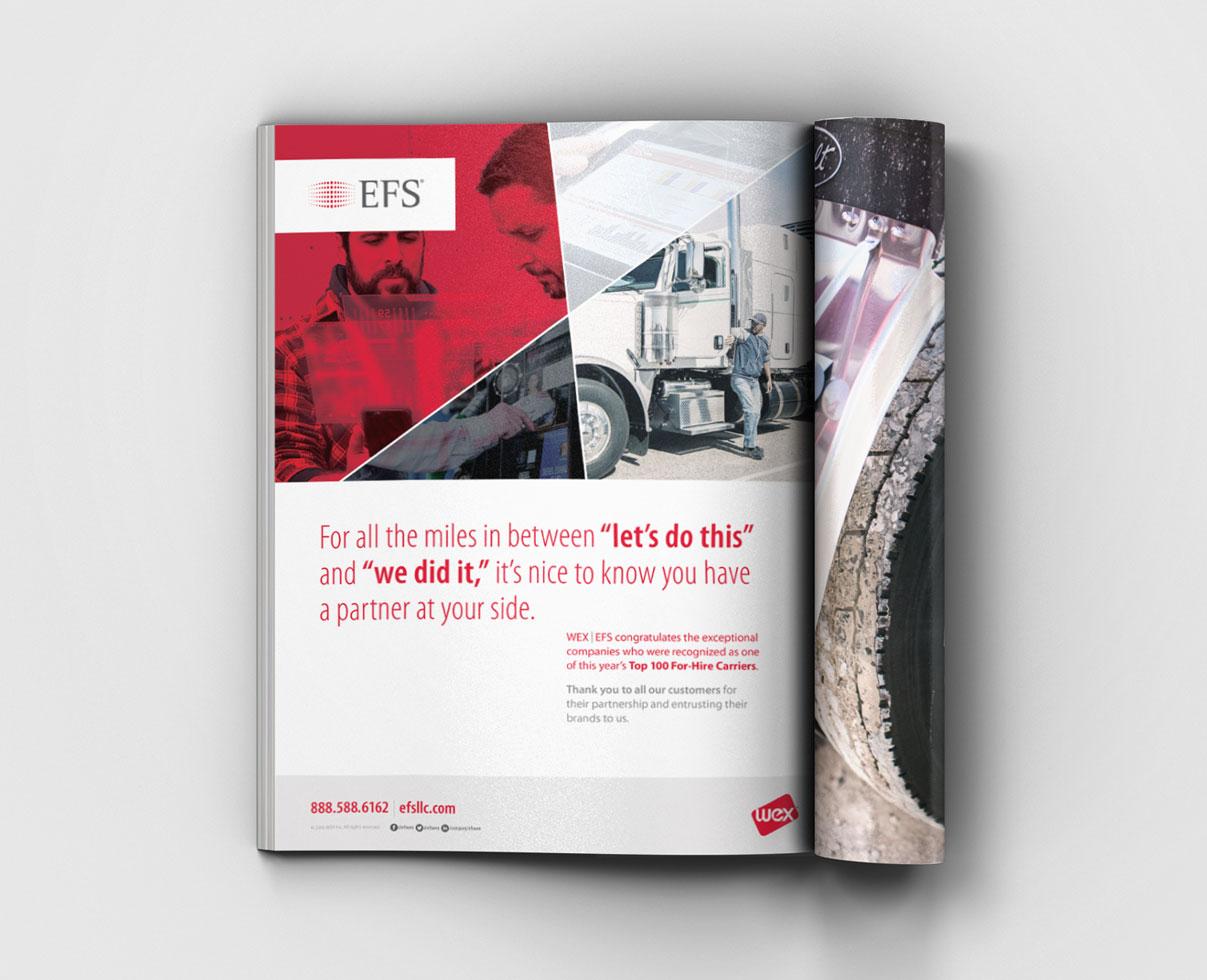 industry trade ad design