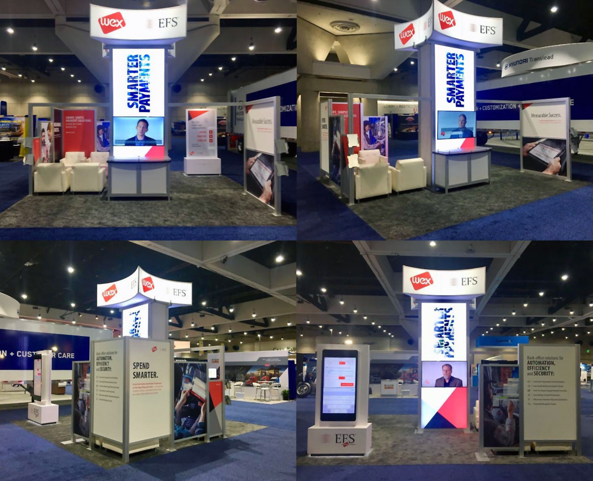 trade show booth concept and design